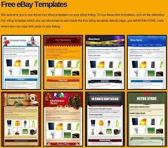 free ebay shop templates responsive ebay listing templates ebay