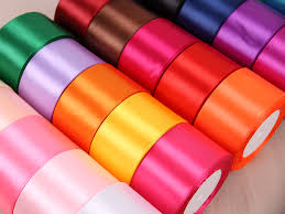 wide satin ribbon 25 yards roll 50mm 2inches wide single satin ribbons for