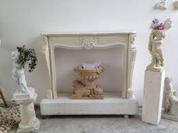 cornice camino cornice camino stile luigi xv in marmo bianconeeseguito su misura