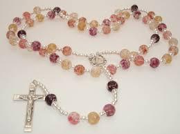 petal rosary personalizing your rosary keepsake jewelry flower petal
