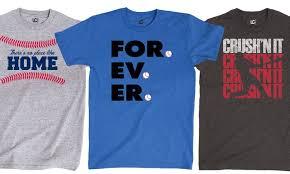 themed t shirts men s baseball themed t shirts groupon goods