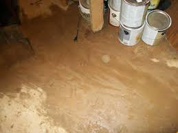 shining design water in middle of basement floor wet diagnosis