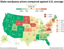 website helps you compare marijuana prices in states major cities