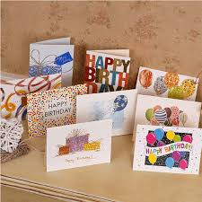 aliexpress com buy happy birthday greeting cards for kids