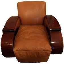 Vintage Leather Club Chair Art Deco Leather Club Chair Set Of Two Toronto Antique Vintage Shop