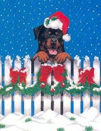 breed christmast cards
