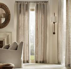 Pottery Barn Curtain Hardware Restoration Hardware Washed Belgian Linen Washed Belgian Linen
