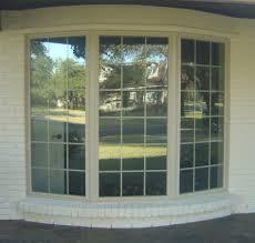 modern window treatments for bay windows living room home design