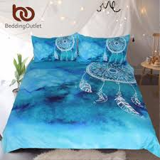 aliexpress com buy beddingoutlet watercolor dreamcatcher bedding