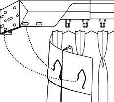 Drape Hooks Diy Fixed Drapery Panels To Dress Up Your Windows