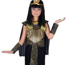 Egyptian Halloween Costumes Kids Queen Cleopatra Dress Headpiece Girls Fancy Dress Egyptian Kids
