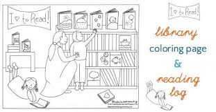 excellent design library coloring pages letter l is for library