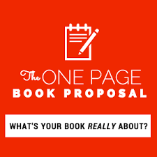 smart about pitching your book with the one page book proposal