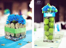 Blue Wedding Centerpieces by 70 Best Lime Green And Blue Wedding Images On Pinterest Lime