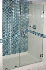 shower glass door stoppers shower glass door for a sleek look in