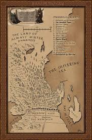 Map Westeros Map Of The Land Beyond The Wall Resources A Game Of Thrones