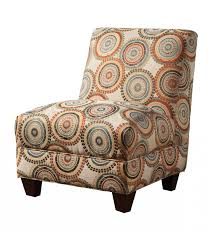 Brown Accent Chair Chairs Orange Patterned Accent Chairs Armless Design Circle