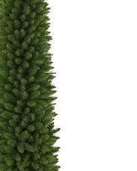 thin christmas tree christmas lights decoration