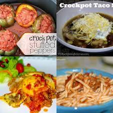 25 frugal ground beef crock pot recipes coupon closet