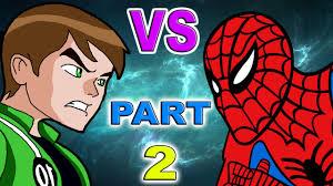 ben 10 spiderman 2