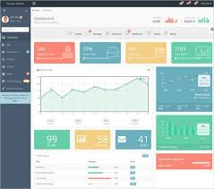 Dynamic Dashboard Template In Excel 52 Bootstrap Dashboard Themes Templates Free Premium Templates