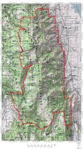 Fort Wilderness Map Warner Mountains Climbing Hiking U0026 Mountaineering Summitpost