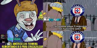 Memes Cruz Azul Vs America - los memes del cruz azul vs am礬rica futbol total