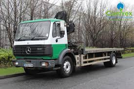 mercedes truck dealers uk mercedes 1820 hiab 102 flatbed crane comvex truck exporter uk