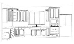 Plans For Kitchen Cabinets by Kitchen Cabinet Design Drawing Kitchen Cabinet Design