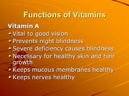 Vitamin A Deficiency Causes Night Blindness Basic Vitamins Water Solublefat Soluble 2 Types Water Soluble