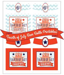 4th of july beer water u0026 bbq party printables