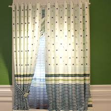 white fabric patterns blackout kids short star curtains