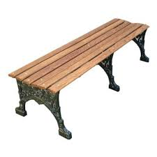 commercial cast aluminum park benches national outdoor furniture