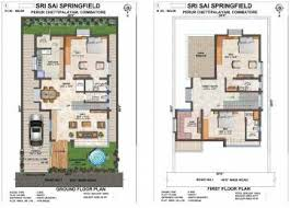 North Facing Floor Plans 3 Bhk North Facing House In Coimbatore Independent House U0026 Villas