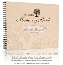 my personal memory book a truly memorable birthday gift my