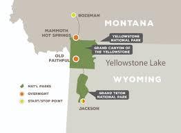 Grand Teton Map Essence Of Yellowstone And Grand Teton Off The Beaten Path