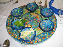 seder plate craft for passover building bridges