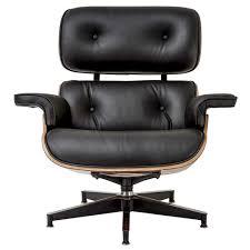 medeski modern lounge chair u0026 ottoman with italian leather