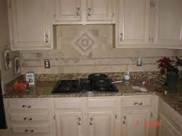medium brown kitchen cabinets imitation marble tile delta faucets