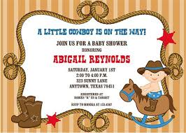 western baby shower western baby shower invitations blueklip