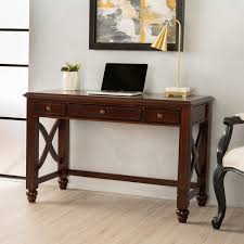 Small Wood Writing Desk Tennyson Small Wood Study Desk With Drawers By Christopher