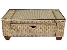 rattan coffee table outdoor wicker rattan coffee table