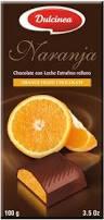 dulcinea milk chocolate with orange filling 100 g u2013 price reviews