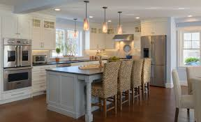 Interior Of A Kitchen An Open Light Filled Kitchen New Hampshire Home September