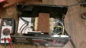 diy battery charger repair thermal breaker fix youtube