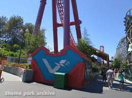Six Flags V2 Theme Park Archive V2 Vertical Velocity At Six Flags Discovery