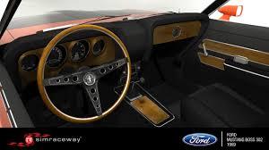 1969 Ford Mustang Interior Simraceway Ford Mustang Boss 302