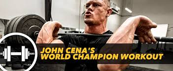 How Much Can John Cena Bench Press John Cena U0027s World Champion Workout Generation Iron Fitness