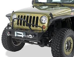 jeep front grill guard warrior products 59010 front pre runner style brush guard in black