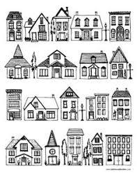 houses coloring free printable parents teacher
